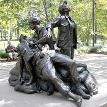 Zdj. nr 98;Pomnik sanitariuszek - USA