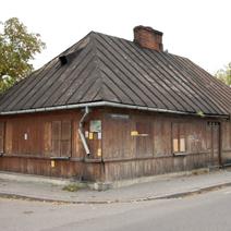 Zdj. nr 45;Stare domy w Łukowie