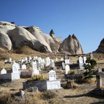 Zdj. nr 11;Cmentarz muzułmański w Kapadocji