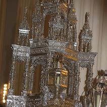 Zdj. nr 4;Monstrancja w Katedrze w Saragossie