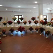 Zdj. nr 48;Święto Róż w Końskowoli w nowym ratuszu w 2020 roku
