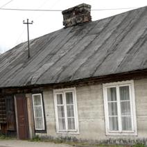 Zdj. nr 46;Stare domy w Łukowie