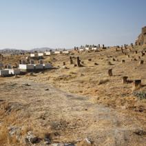 Zdj. nr 12;Cmentarz muzułmański w Kapadocji