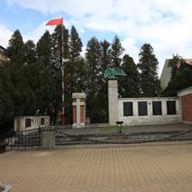 Zdj. nr 23;Pomnik zastrzelonych żołnierzy AK w Zwoleniu