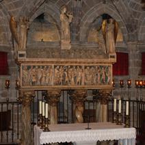 Zdj. nr 5;Kaplica Św. Eulalii w Katedrze - Barcelona
