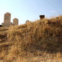 Zdj. nr 13;Cmentarz muzułmański w Kapadocji