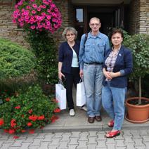 Zdj. nr 11Wycieczka Dyrekcji Instytutu Ogrodnictwa w Skierniewicach