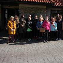 Zdj. nr 17Wycieczka młodzieży szkolnej z Finlandii i Lublina