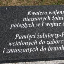 Zdj. nr 50;Tablica poległych żołnierzy - Maciejowice