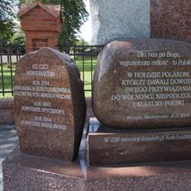 Zdj. nr 53;Pomnik poległych żołnierzy w walkach - Maciejowice