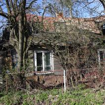 Zdj. nr 34;Stare domy w Pożogu