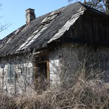 Zdj. nr 38;Stare domy w Pożogu