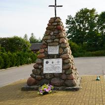 Zdj. nr 3;Pomnik Tadeusza Salamończyka w Przyłęku