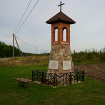 Zdj. nr 17;Kapliczka w Przyłęku