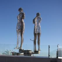 Zdj. nr 8;Współczesna rzeźba - Batumi