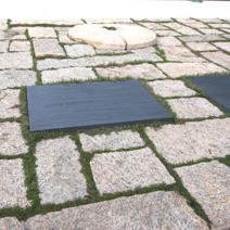 Zdj. nr 8;Grobowiec prezydenta Johna Kennedy'ego i rodziny