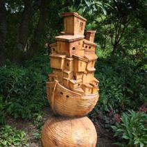 """Zdj. nr 67;Zamek na łodzi"""" - Hillier Gardens"""