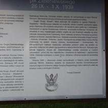 Zdj. nr 4;Opis walk grupy pułkownika Zieleniewskiego