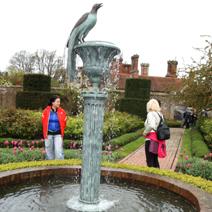 Zdj. nr 259;W Borde Hill Garden w Anglii.