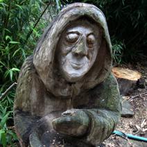 Zdj. nr 308;Rzeźba w Arboretum Šmelcovna, Boskovice