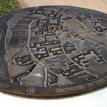 Zdj. nr 262;Plan miasta Cambridge