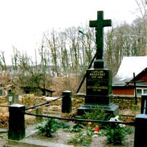 Zdj. nr 1;Grób Elizy Orzeszkowej na cmentarzu w Grodnie