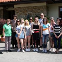Wycieczka studentów Architektury Krajobrazu KUL w Lublinie