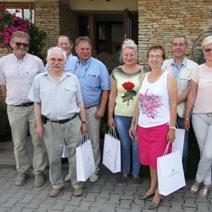 Wycieczka delegacji zaprzyjaźnionej gminy ze Skrzypska Wielkiego