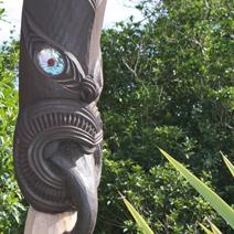 Zdj. nr 183;Rzeźba maoryska