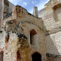 Zdj. nr 20;Ruiny zamku w Janowcu