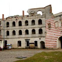 Zdj. nr 23;Zamek w Janowcu