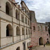 Zdj. nr 4;Ruiny zamku w Janowcu