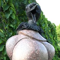 Zdj. nr 306;Rzeźba w Powsinie.