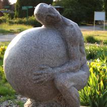 Zdj. nr 302;Rzeźba w Powsinie.
