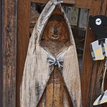 Zdj. nr 136;Rzeźba drewniana