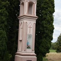 Zdj. nr 147;Kapliczka w Witowicach