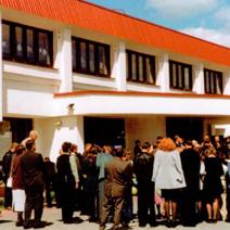 Zdj. nr 10;Szkoła Polska w Wołkowysku w dniu zakończenia roku szkolnego w maju 2001 roku.