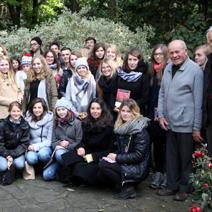 Studenci Architektury Krajobrazu SGGW z Warszawy