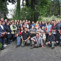 Uczestnicy wycieczki z Litwy