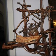 """Zdj. nr 34;""""Ukrzyżowanie"""" w kościele w Białowieży"""