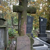 Zdj. nr 8;Grób Szczęsnego Prawdzica Gorazdowskiego