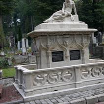 Zdj. nr 9;Grobowiec Honoraty Bożęckiej