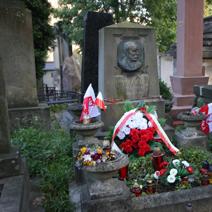 Zdj. nr 14;Grób Władysława Bełzy