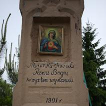 Zdj. nr 61;Krzyż w Janikowie
