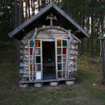 Zdj. nr 165;Kapliczka w Łączku Garncarskim