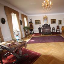 Zdj. nr 47;Pokój dworu - byłej rodziny Starzewskich. Obecnie Muzeum Rolnictwa