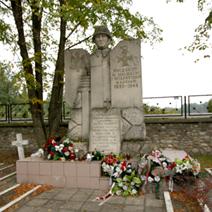 Zdj. nr 16;Cmentarz partyzancki w Osuchach