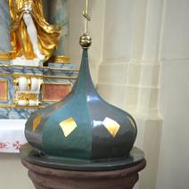 Zdj. nr 22;XVII - wieczna chrzcielnica