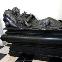 Zdj. nr 21;Nagrobek księżnej Zofii z Opalińskich Lubomirskiej zaprojektowany przez Tylmana van Gameren