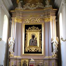 Zdj. nr 15;Kościół Farny, nawa południowa, kaplica Matki Boskiej